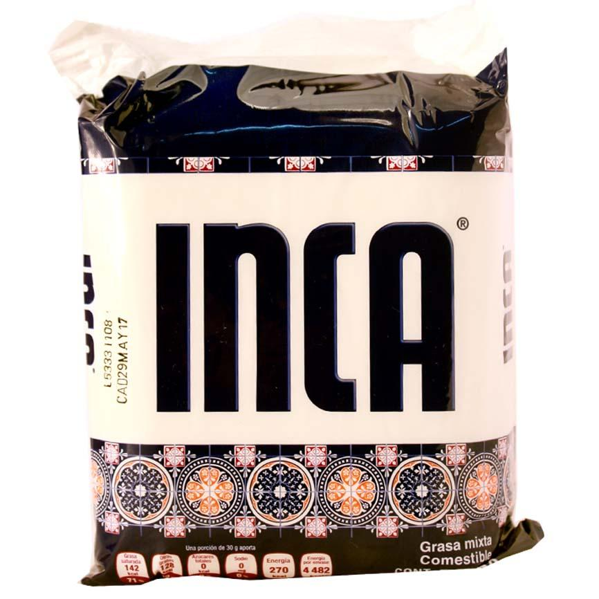 GRASA VEGETAL COMESTIBLE INCA BSA 500 g