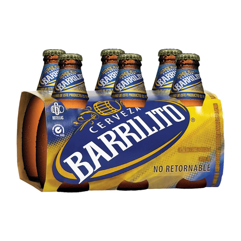 CERVEZA CORONA BARRILITO BOTELLA SIX N.R 325 ml