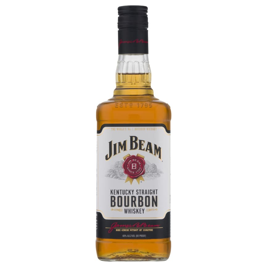 WHISKEY JIM BEAM WHITE LABEL BOT 750 ml