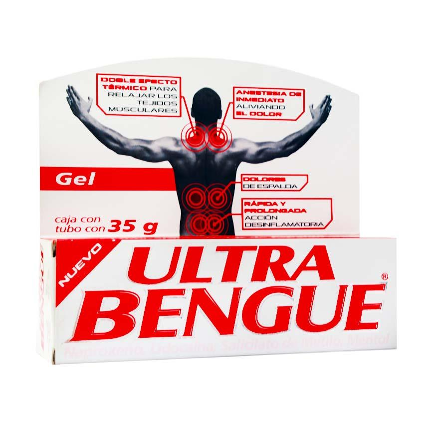 ULTRA BENGUE GEL ROJO GENOMMALAB 35 g