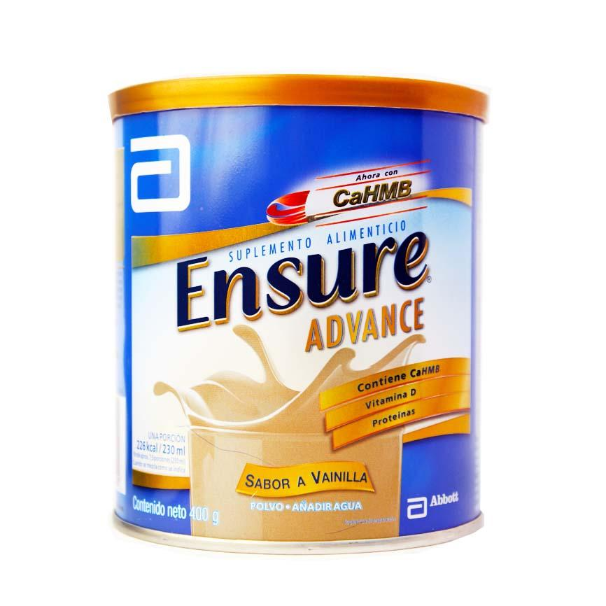 ENSURE ADVANCE VAINILLA ABBOTT PZ 400 g