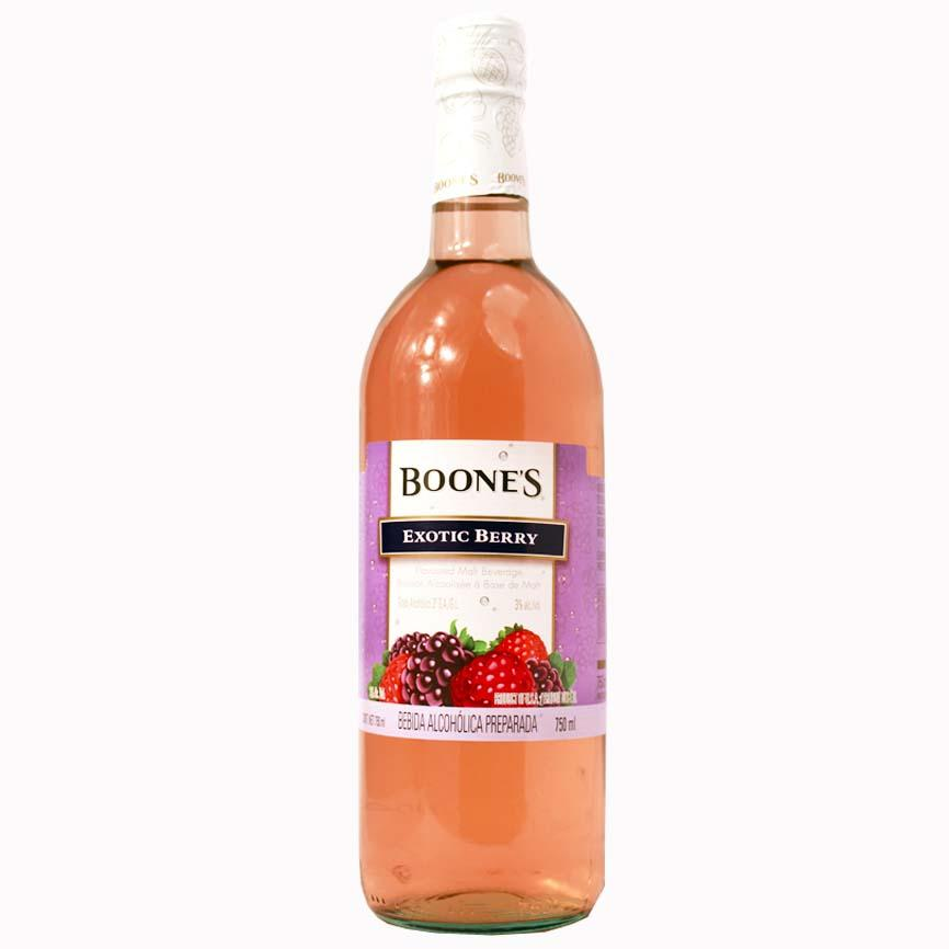 BEBIDA BOONES EXOTIC BERRY BOTELLA 750 ml