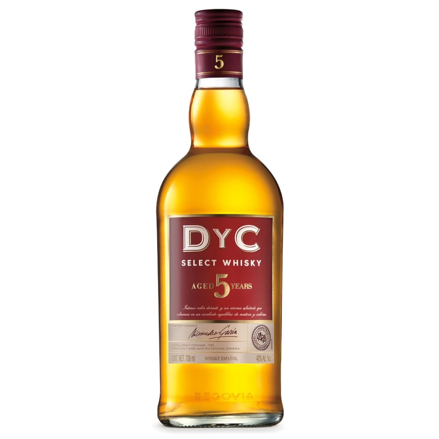 WHISKY D Y C BLENDED 5 AÑOS BOTELLA 750 ml